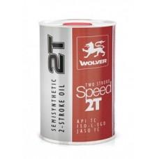 2-тактное масло WOLVER TWO STROKE SPEED 2T (API TC) 1л