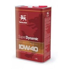 Полусинтетическре моторное масло Wolver Super Dynamic 10w40 4 литра
