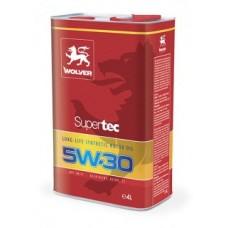 Синтетическре моторное масло Wolver SuperTec 5w30 1 литр