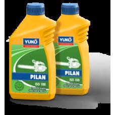 Всесезонное масло для смазки пильных цепей и шин бензопил YUKO PILAN (ISO 100)