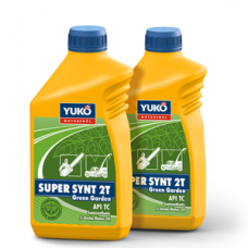 Полусинтетическое моторное масло YUKO SUPER SYNT 2T Green Garden 1 литр