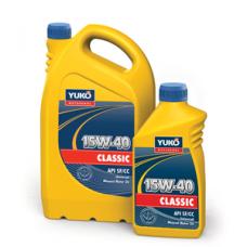 Универсальное минеральное моторное масло YUKO CLASSIC 15W-40 4 литра