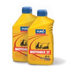 Минеральное моторное масло MOTOMIX 2T (TC) 1 литр