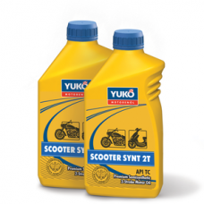 Полусинтетическое моторное масло для дорожной техники YUKO SCOOTER SYNT 2T (FC) 1 литр