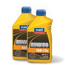 Всесезонное универсальное трансмиссионное масло YUKO ТАД-17a 85W-90 3 литра