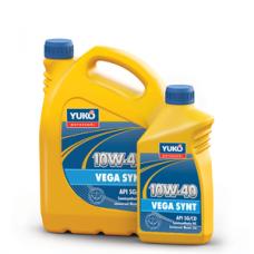 Полусинтетическое моторное масло YUKOIL VEGA SYNT 10W-40 высшего качества 4 литра