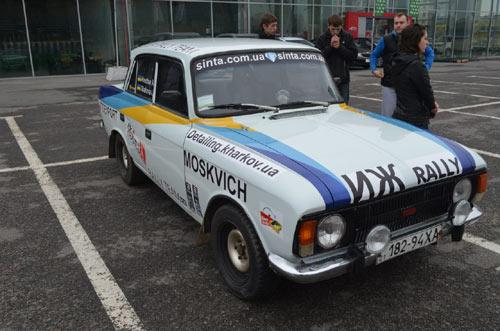 Sinta Rally Team ИЖ 412